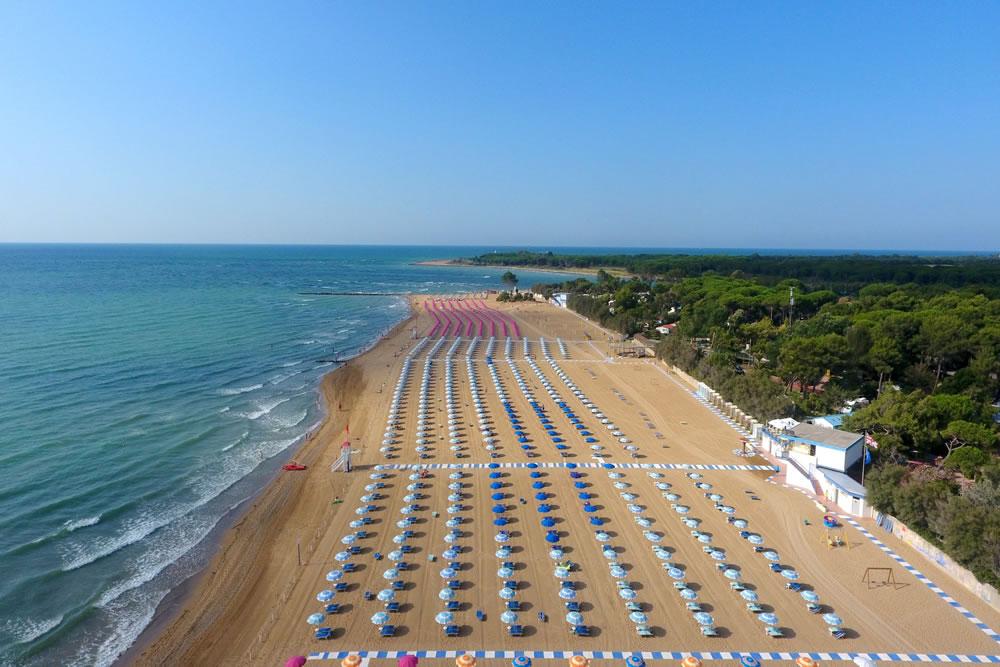 Spiaggia di Lignano Riviera